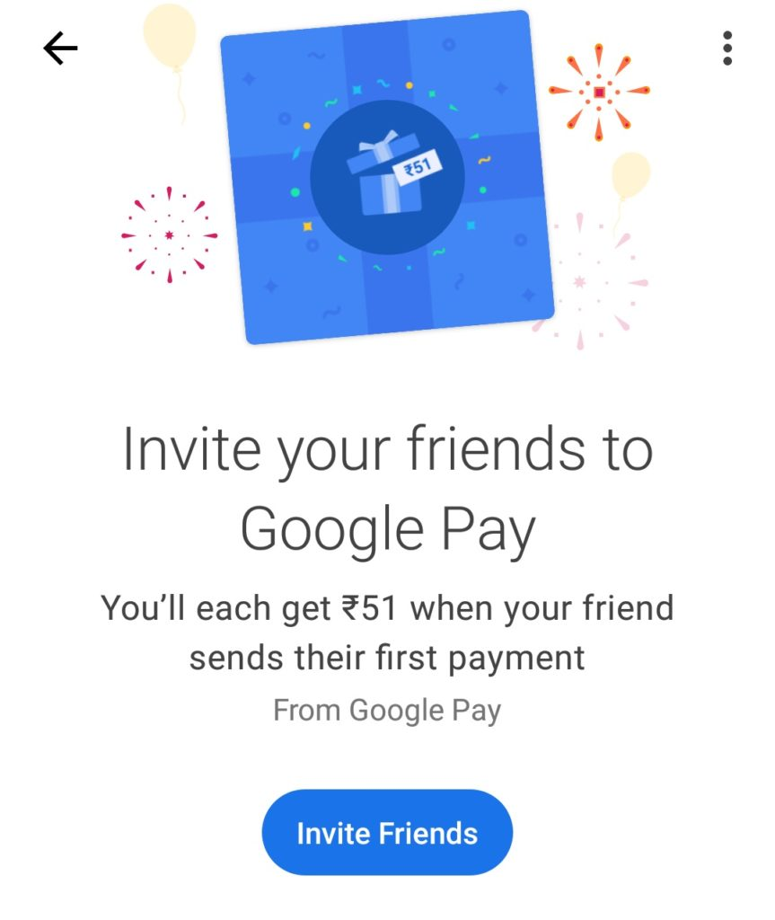 google pay discount code